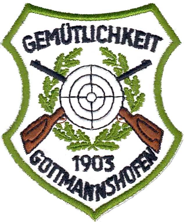 Wappen des Schützenvereins Gottmannshofen