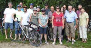 Radtour der Gottmannshofer Schützen 2017