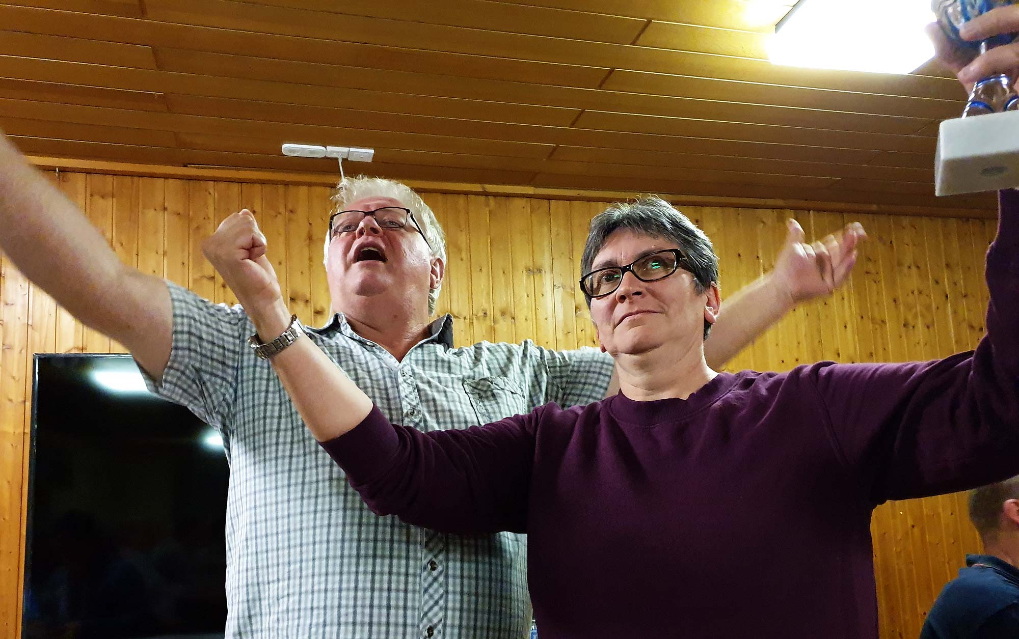 Ortsvereineschiessen 2019 in Geratshofen - Bester Teiler Sigrid Sailer