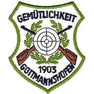 Das Wappen der Gemütlichkeit-Schützen aus Gottmannshofen