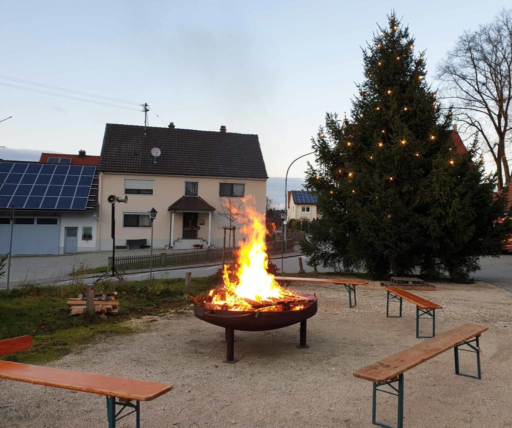 2019 Adventsmarkt in Gottmannshofen - Vorbereitungen abgeschlossen