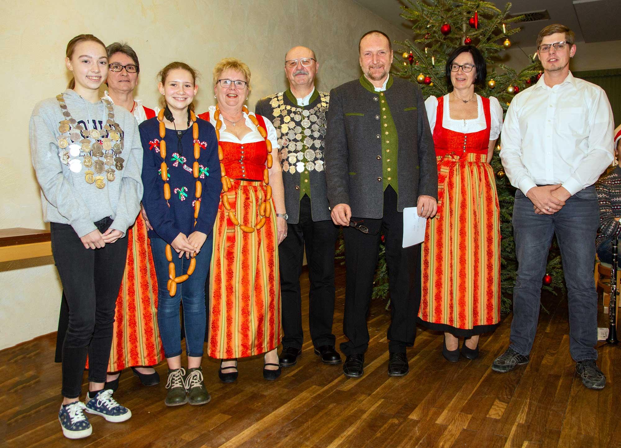 Schützenkönige der Gottmannshofer Schützen für das Jahr 2020