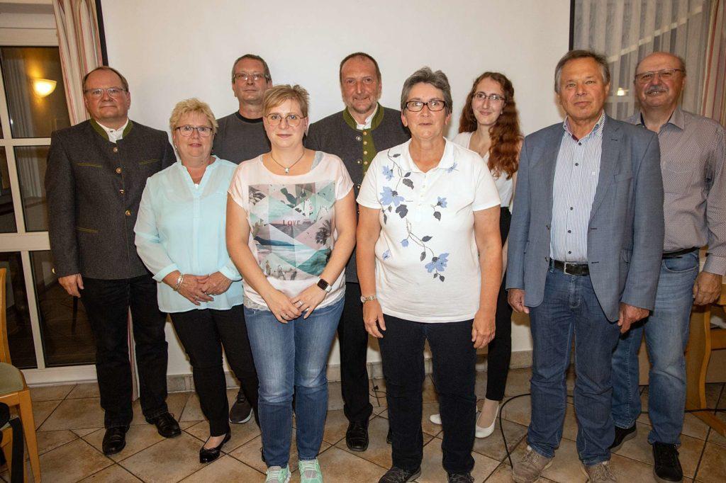 Vorstandschaft der Gottmannshofer Schützen